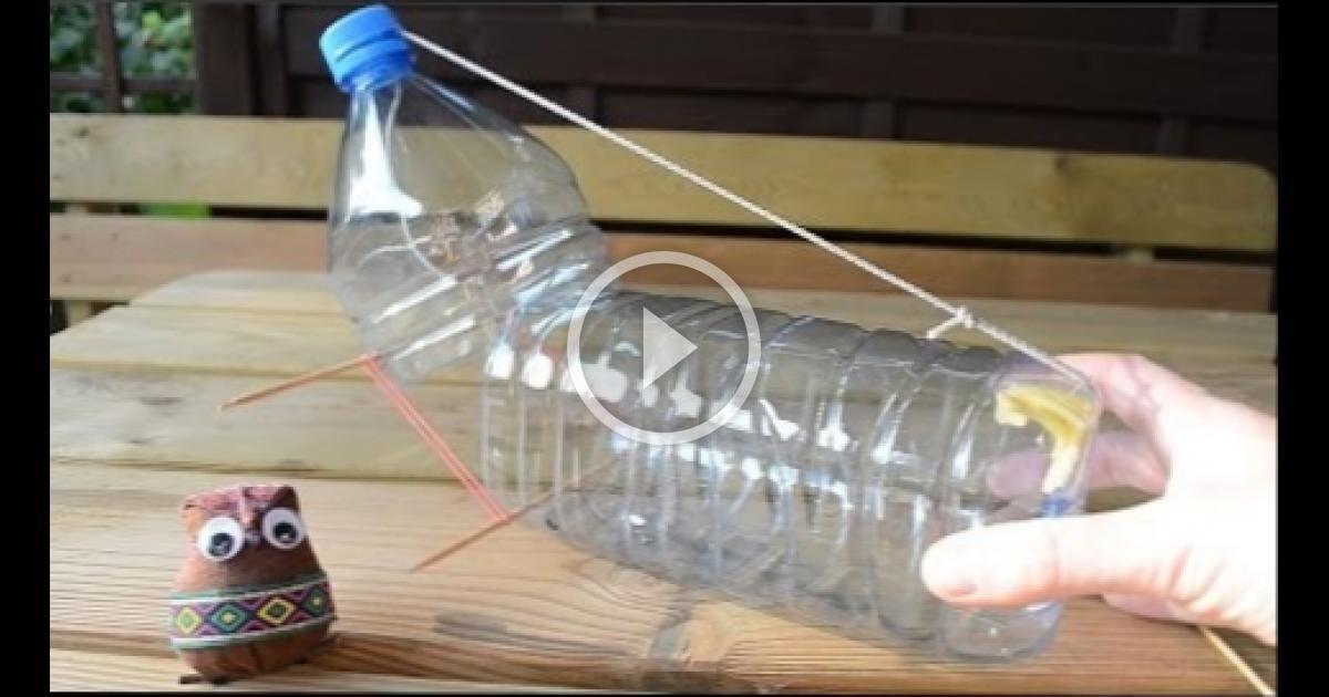 Мышеловка своими руками из пластиковой бутылки фото