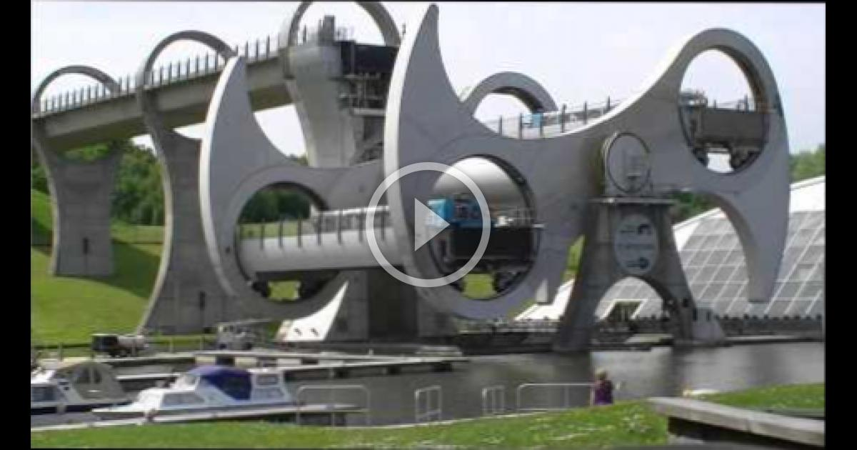 Falkirk Wheel Central Scotland Wbmvideo 2907015347
