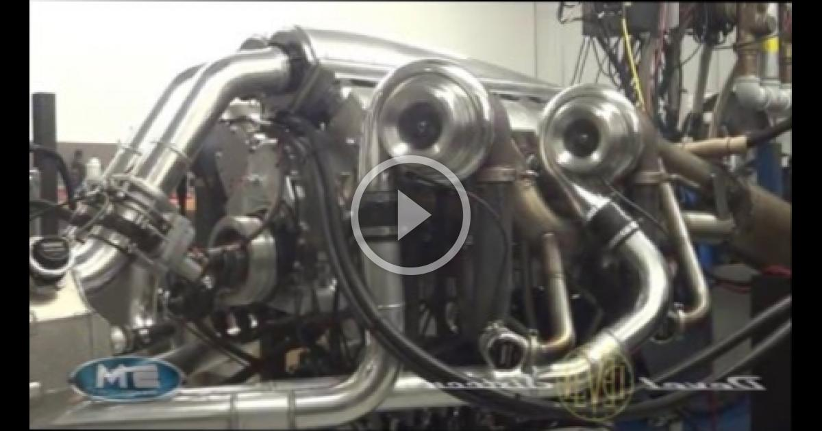 Devel Sixteen V16 5000HP Engine Dyno | WBMVIDEO 3108024706