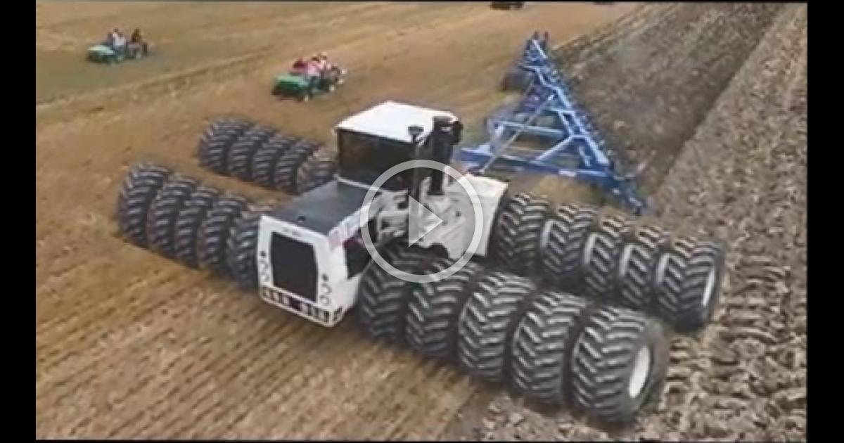World S Smallest Tractor : Biggest tractors in the world wbmvideo